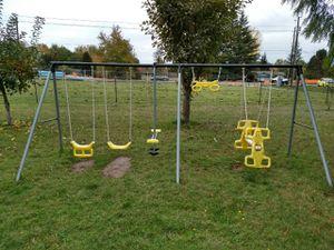 Kids outdoor swings set for Sale in Ridgefield, WA