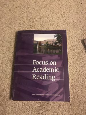 Focus on academic reading book for Sale in Rockville, MD