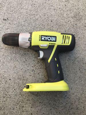Ryobi 18v Drill Driver 1/2 in. for Sale in Vista, CA