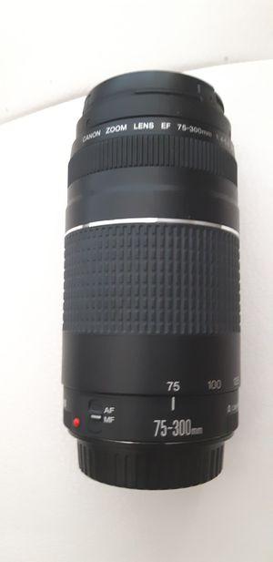 Canon 75-300 lens for Sale in Atlanta, GA