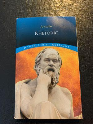 Aristotle Rhetoric: Dover Thrift Edition for Sale in Yancey Mills, VA