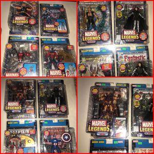 Marvel Legends Toy Biz Action Figure Thor Captain America Marvel Loki Dr.Doom Iron Man for Sale in Tampa, FL