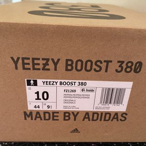 Adidas Yeezy Boost 380 Pepper Size 10 Brand New In Box for Sale in West Palm Beach, FL
