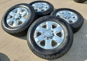 """20"""" Chevy 2500 3500 Wheels Rims Rines and Tires Llantas for Sale in Anaheim, CA"""