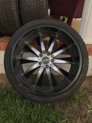 265/35/R22 Helos wheels for Sale in Uvalda, GA