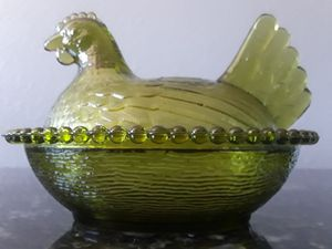 Vintage Indiana Glass Hen on Nest for Sale in Scottsdale, AZ