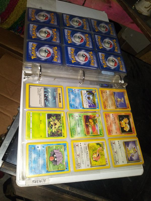 Collectible Pokemon cards
