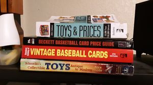 Price guides for Baseball basketball cards and price guides for toys and antiques for Sale in Yakima, WA