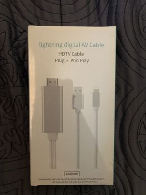 Lightning digital HDMI for Sale in Gambrills, MD