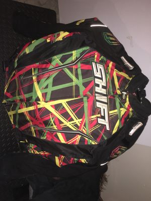 Shift rise against motorcycle jacket for Sale in Normal, IL