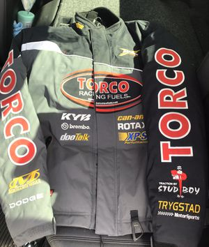 Warnert Racing /Ski-doo snowmobile Jacket Sz LG for Sale in Las Vegas, NV