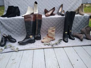 Beautiful Boots and Shoe Sale.. for Sale in Glen Ferris, WV