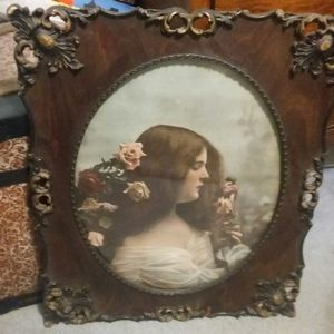 Victorian framed photo picture for Sale in Penndel, PA