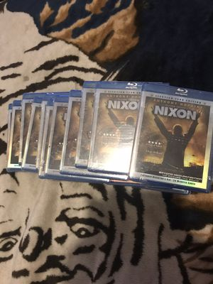 Nixon movie blue ray (New Unopened) $15 each for Sale in Grand Rapids, MI