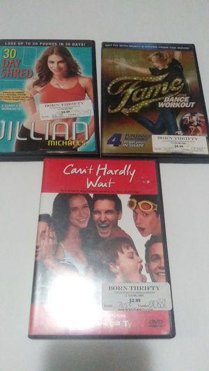3 FREE DVDs for Sale in Ypsilanti, MI