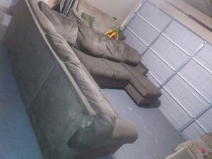Used couches. $200 Great shape. Muebles Usados Cafes. Muy buena condiciones. for Sale in Houston, TX