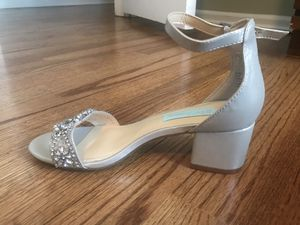 Blue by Betsey Johnson- Block Heel for Sale in Freehold, NJ