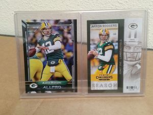 Aaron Rodgers Football card display for Sale in Vancouver, WA