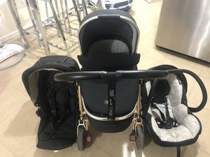 Mamas & papa's. Urbo 2 Stroller rose gold limited edition for Sale in The Bronx, NY