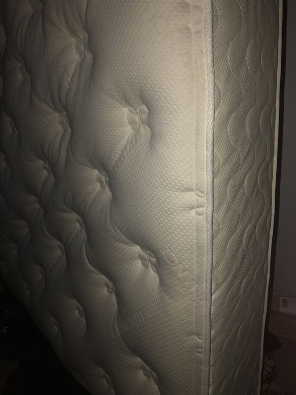 Queen size plush mattress