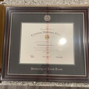 New Unopened UNT diploma Frame (Make An Offer) for Sale in Keller, TX