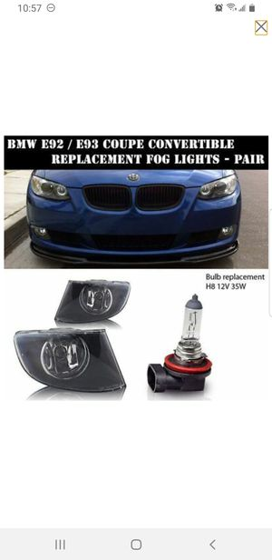 REPLACEMENT FOG LIGHT LIGHTS FOR BMW E92 E93 COUPE CONVERTIBLE CLEAR PAIR SET 07-2010 for Sale in Virginia Beach, VA
