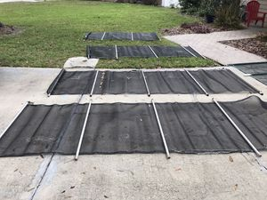 Pool safety fence sections (used) for Sale in Tampa, FL