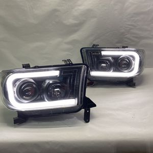 07-13 Toyota Tundra LED headlights 08-17 Toyota Sequoia for Sale in Los Angeles, CA