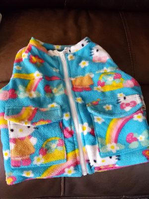 Hello kitty weighted Fleece vest for Sale in Portsmouth, VA