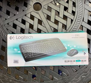 Logitech wireless keyboard and mouse for Sale in San Diego, CA