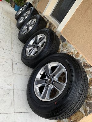 """New Jeep Wrangler 18"""" rims wheels with Bridgestone tires. Fits all wrangler 2007 to 2020. for Sale in West Miami, FL"""