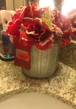 Decorative flower pot paid $6.99 asking $4 for Sale in Washington, DC