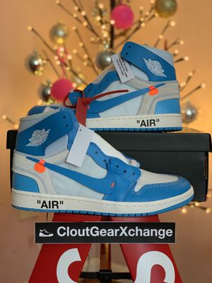 The 10: Off-White Jordan 1 Retro High UNCs BRAND NEW! for Sale in Reston, VA