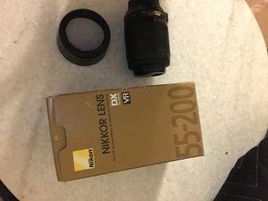 Nikon 55-200mm Lense for Sale in San Diego, CA