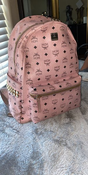 Pink MCM backpack ! for Sale in North Las Vegas, NV