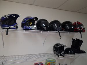Adult and Youth motorcycle and dirt bike helmets for Sale in NC, US