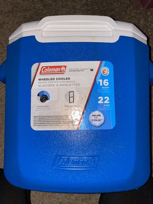 Coleman wheeled cooler for Sale in San Francisco, CA