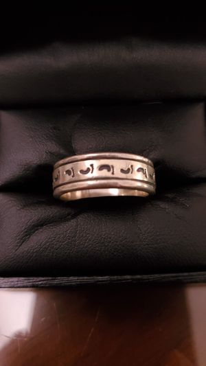 Sterling Silver 925 Ring Size 8 Stamped for Sale in Virginia Beach, VA
