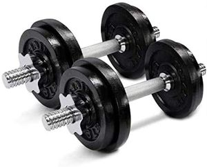 Two 25 pound dumbbells for Sale in Scottsdale, AZ