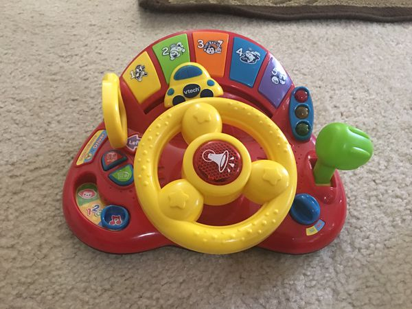 Musical toy steering- vtech brand