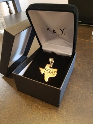 10k Gold Texas Pendant for Sale in Burleson, TX