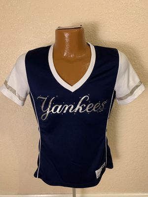 MLB New York Yankees Jeweled Jersey. Women's Small. Great condition. for Sale in Parkland, FL