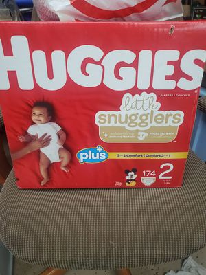 Huggies size 2 diapers. for Sale in Sacramento, CA