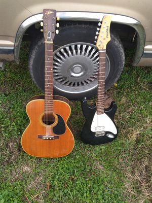 FirstAct guitar and a harmony acoustic guitar for Sale in Victoria, TX