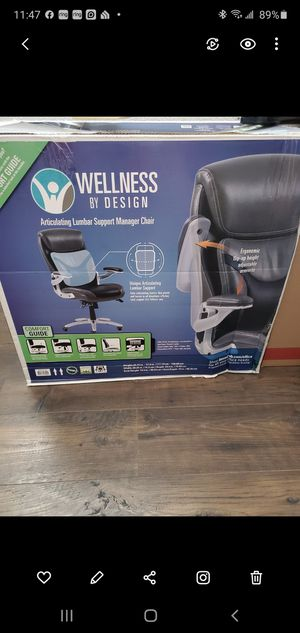 Wellness by Design Manager Chair for Sale in Fountain, CO