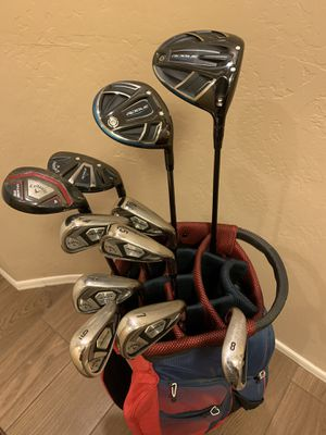 12PC MENS CALLAWAY Rogue 2018 GOLF SET, OVER 2K NEW MINT!! for Sale in Scottsdale, AZ