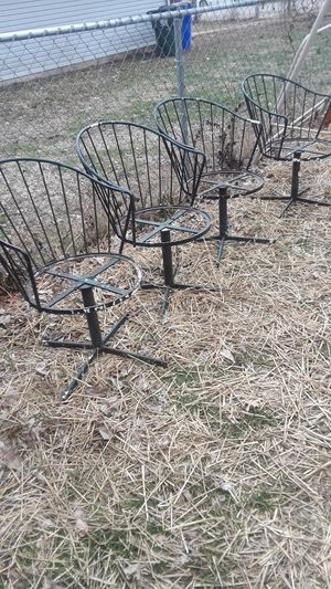 4 of them Rod Iron chairs for Sale in Lexington, KY