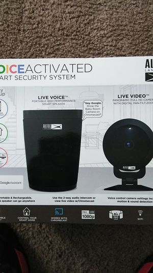 Smart voice activated security system for Sale in Columbus, OH