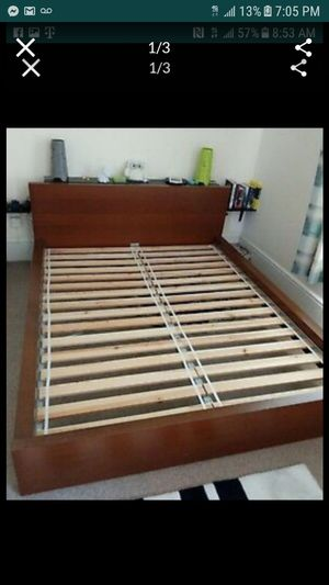 Full size bed frame with mattress for Sale in Chicago, IL