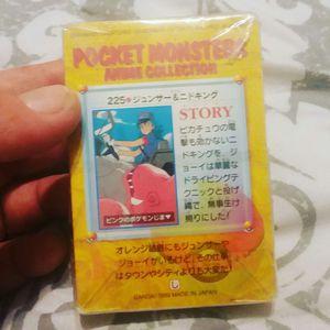 POKEMON POCKET MONSTERS CARD DECK 1999 JAPAN NEW SEALED RARE for Sale in Denver, CO